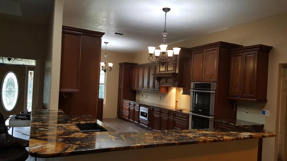 Granite Countertops and Cabinet Installation