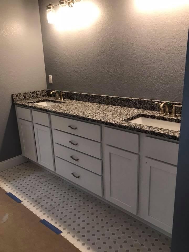 Bathroom Cabinet Remodel